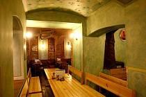 Restaurace Zelený dveře v Brně.