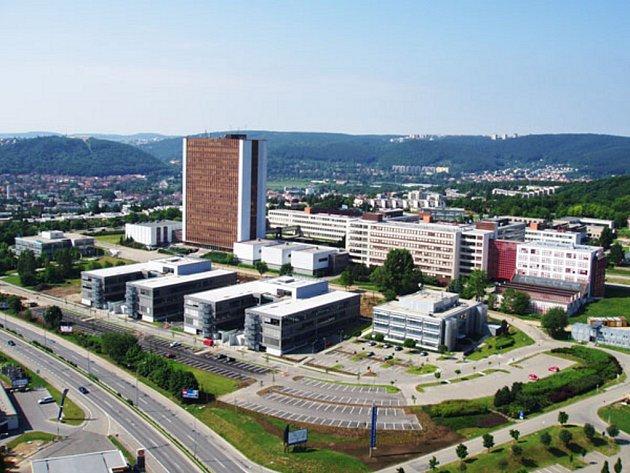 Technologický park v Brně.