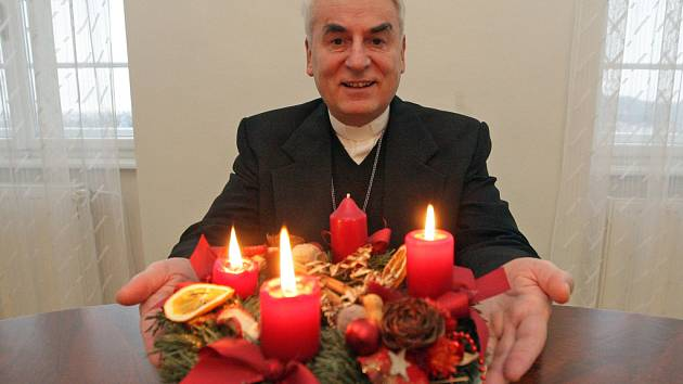 Biskup Vojtěch Cikrle.