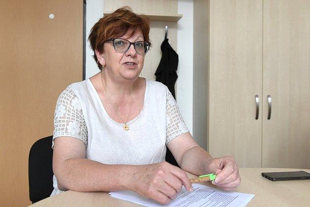 Koordinátorka dopravních staveb Vlasta Jágerová zBrněnských komunikací.