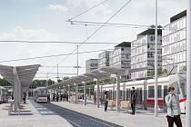 Nová tramvajová trať má propojit brněnské městské části Starý Lískovec a Bohunice do roku 2022.