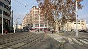 Benešovou ulicí má vést nový bulvár k nádraží.