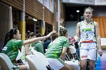 Basketbalistky KP Brno si na finále Českého poháru kvůli Covidu ještě počkají. (Ilustrační foto)