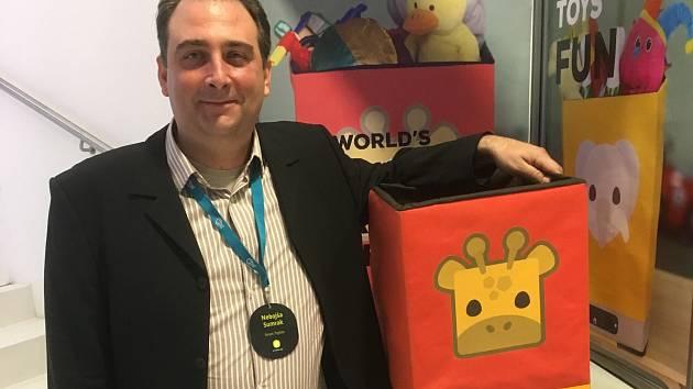 Srbský start-up Smart Toy Box.