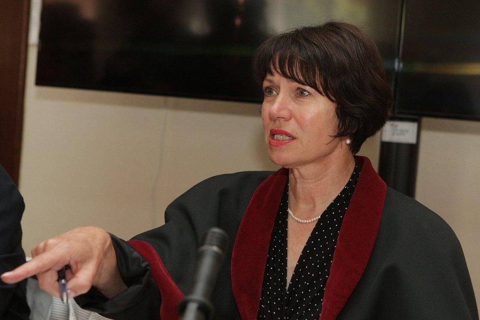 Státní zástupkyně Ludmila Doležalová.