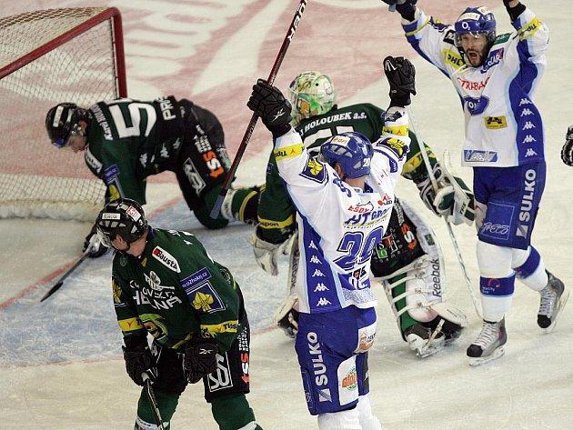 Kometa porazila Karlovy Vary 2:1.