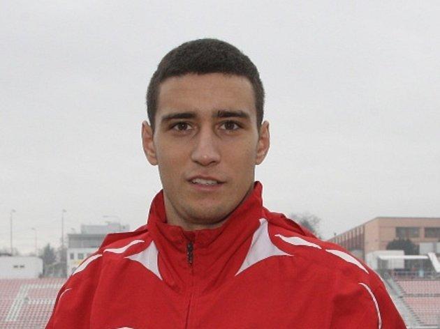 Srbský fotbalový útočník Miroslav Markovič.