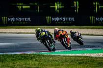 Grand Prix se v Brně v této sezoně jela poprvé před prázdnými tribunami.