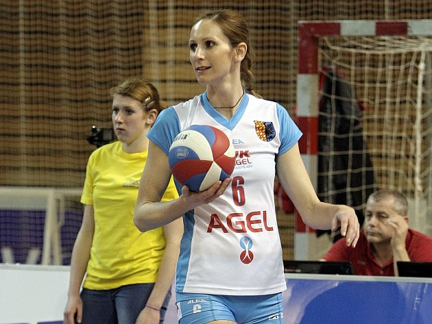 Volejbalistka Helena Horká.