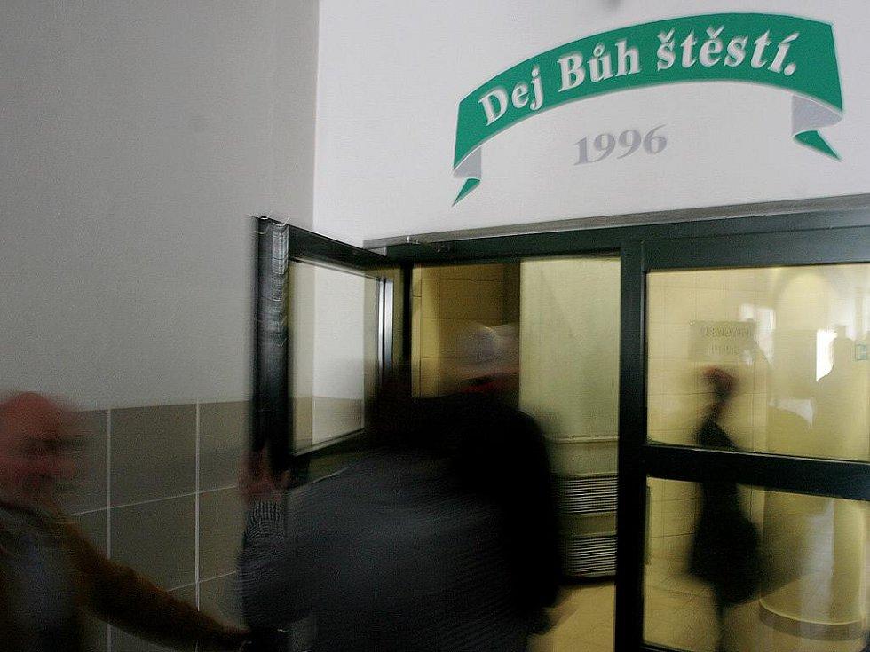 Den otevřených dveří v brněnském pivovaru Starobrno.
