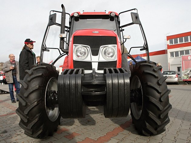 Traktor typu Major vyrobený brněnskou firmou Zetor.