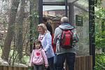 Brněnská zoologická představila novou expozici Žijí tu s námi. Lidé tam najdou zvířata, která jsou v přírodě těžko k nalezení.