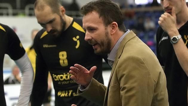 Volejbalový trenér Ondřej Marek.