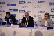 Panelová diskuze s jihomoravským hejtmanem Bohumilem Šimkem na brněnské hvězdárně.