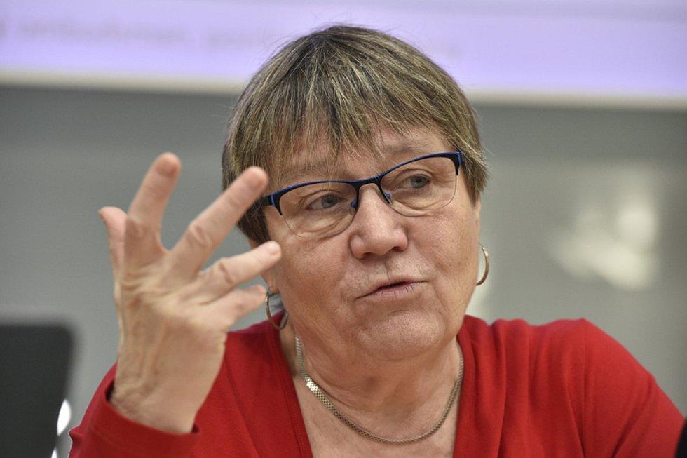 Anna Šabatová  - Bývalá ombudsmanka