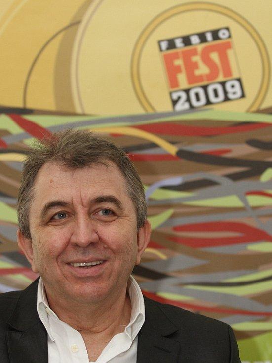 Ředitel Febiofestu Fero Fenič.
