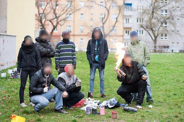 Sprejerská skupina, která řádí vBrně.