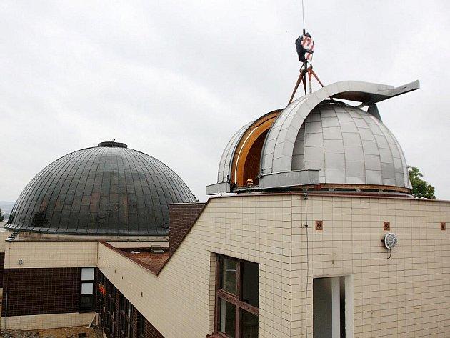 Rekonstrukce brněnské hvězdárny na Kraví hoře - ilustrační fotografie.