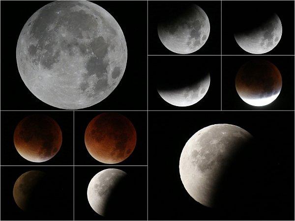 Měsíc se zahalil do barvy krve. Na hvězdárnu přišlo 900lidí