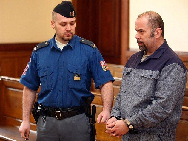 Lubomír Balus u brněnského soudu.