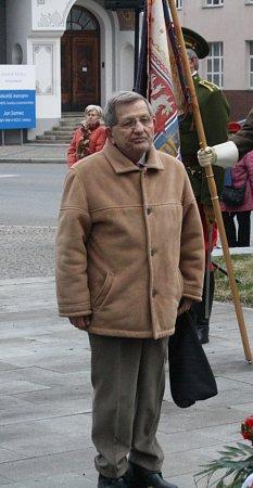 Miloš Hynek, 80let, historik, za války žil vHodoníně a Praze