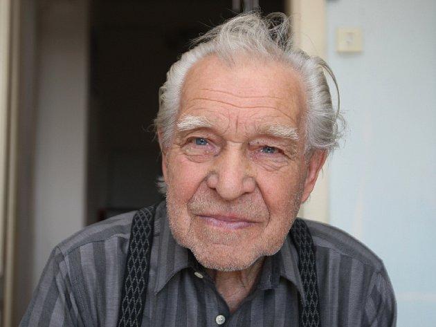 Jedenaosmdesátiletý Brňan Josef Eisenwort vzpomíná na osvobození.