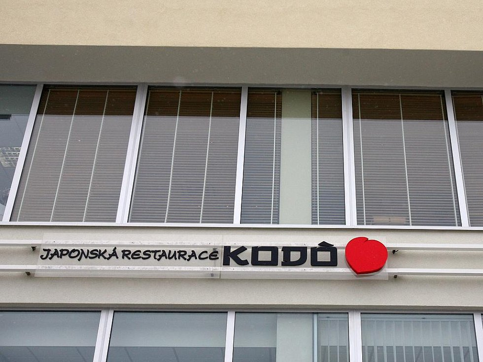 Brněnská restaurace Kodo.