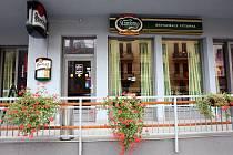Brněnská restaurace Výtopna.