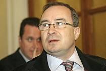 Tomáš Vandas u krajského soudu v Brně.