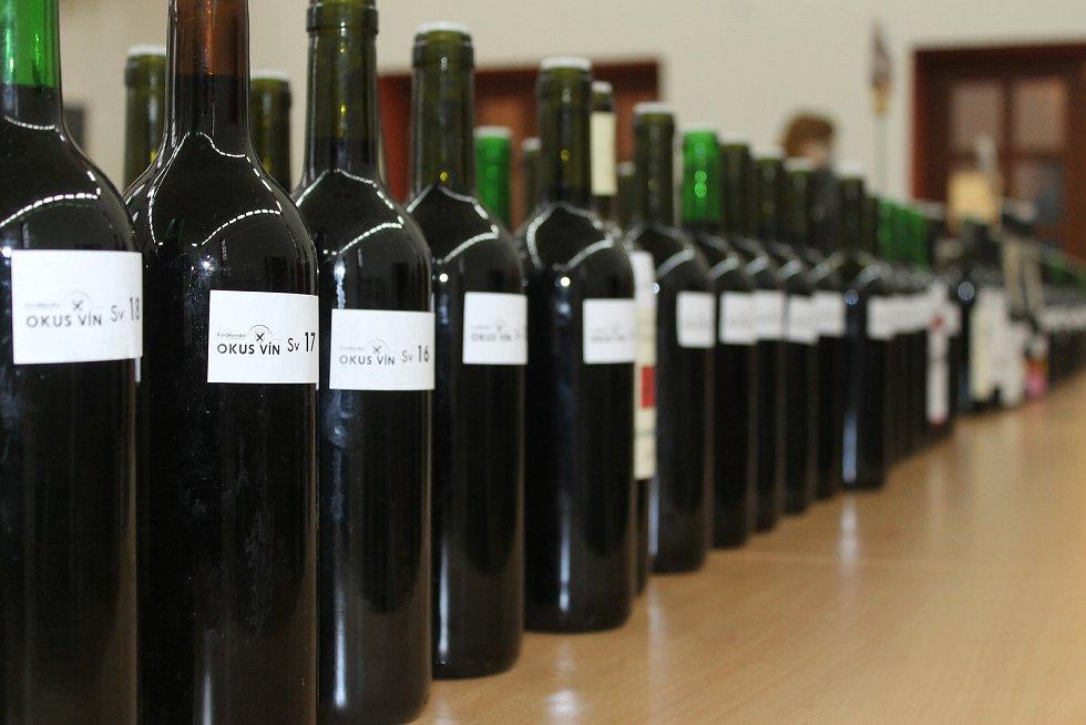 Kurdějovský okus vína.