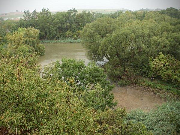 Vandalové vypustili rybník. Bez deště by ryby vněm uhynuly.