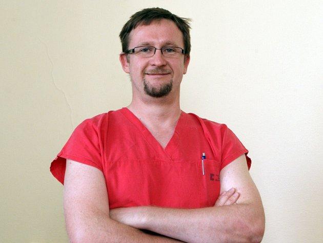 Primář Oddělení urgentního příjmu Fakultní nemocnice Brno Martin Doleček.