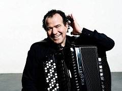 Akordeonista Richard Galliano.