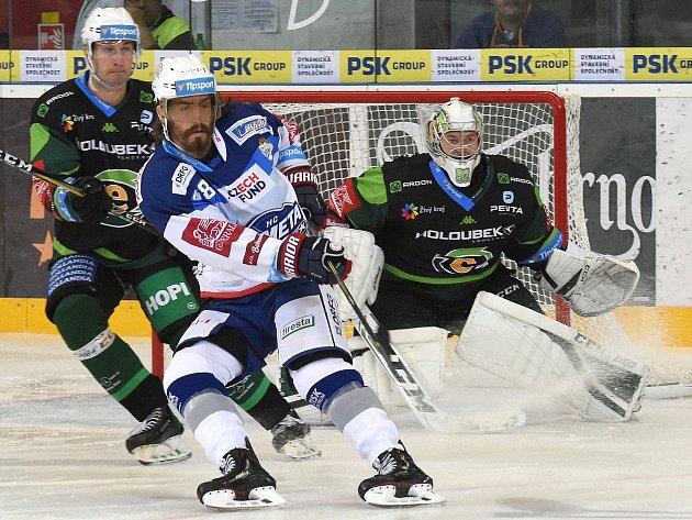 Hokejista Peter Mueller (v bílém).