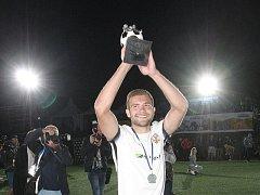 Český reprezentant Patrik Levčík stal nejlepším hráčem mistrovství Evropy v malém fotbale.