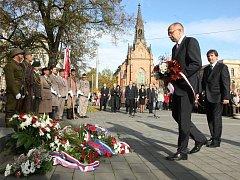 Lidé v Brně si připomněli vznik Československa.