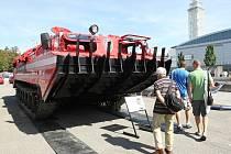 V Brně začal čtyřiapadesátý ročník Mezinárodního strojírenského veletrhu.