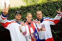Restaurace a hospody v Brně obsadili ve čtvrtek hokejoví fanoušci. Při čtvrtfinálovém zápase mistrovství světa fandili české reprezentaci  v souboji s USA.