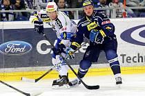 V posledním domácím utkání před čtvrtfinále extraligového play off hostili hokejisté brněnské Komety tým Kladna.