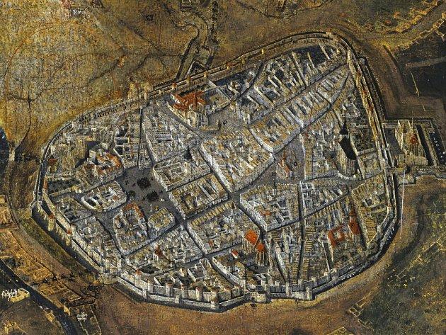 Na Moravském náměstí vznikne socha Obezřetnosti, která bude kopií mapy z dob Obléhání Brna Švédy.