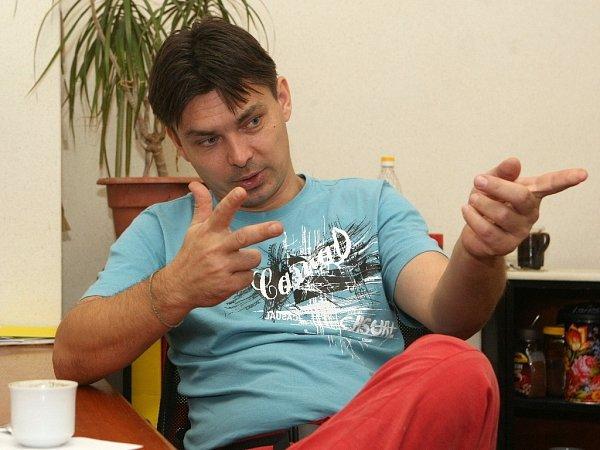 Myslivec Marek Slanina zBučovic na Vyškovsku.