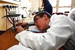 Výuka chemie - ilustrační foto.