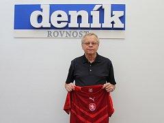 Vítěz jarní části soutěže Brněnského deníku Rovnost Fortuna TIP ligy Jan Juránek.