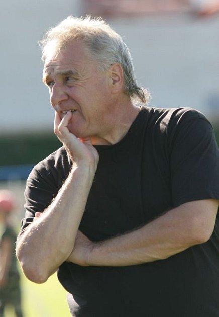 Trenér fotbalistů 1. FC Brno Petr Uličný