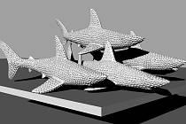 Šelmy na Šilingrově náměstí nahradí sousoší žraloků.