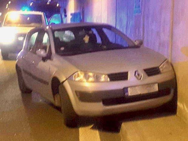 Nehoda vHusovickém tunelu.