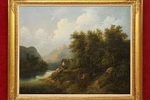 Aukční dům Zezula v sobotu uspořádal aukci obrazů. Dražily se mimo jiné i malby Josefa Čapka nebo Antonína Procházky.