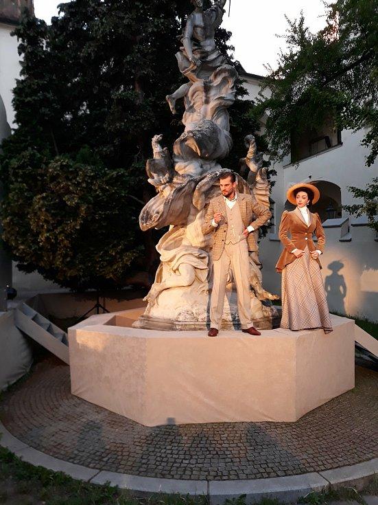 V sobotu uvedlo Městské divadlo Brno premiéru muzikálu Napoleon aneb Alchymie štěstí na Biskupském dvoře.