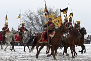 Opakování bitvy u Slavkova přihlížely i v zimě tisíce lidí.