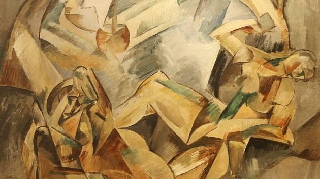 Moravská galerie v Brně ve středu zahájila výstavu Rytmy + pohyb + světlo, na níž jsou také obrazy Františka Kupky, Josefa Čapka, Otto Gutfreunda či Bohumila Kubišty.
